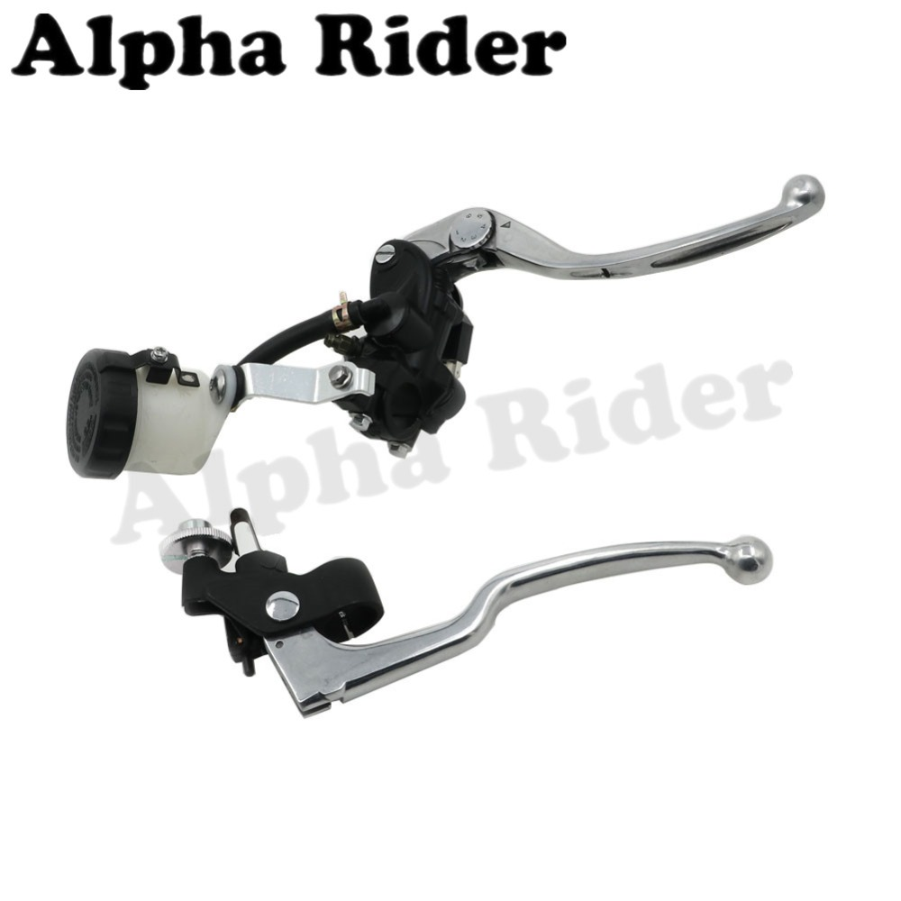 Option 1 Brake Lever : Quot mm adjustable brake master cylinder fluid reservoir
