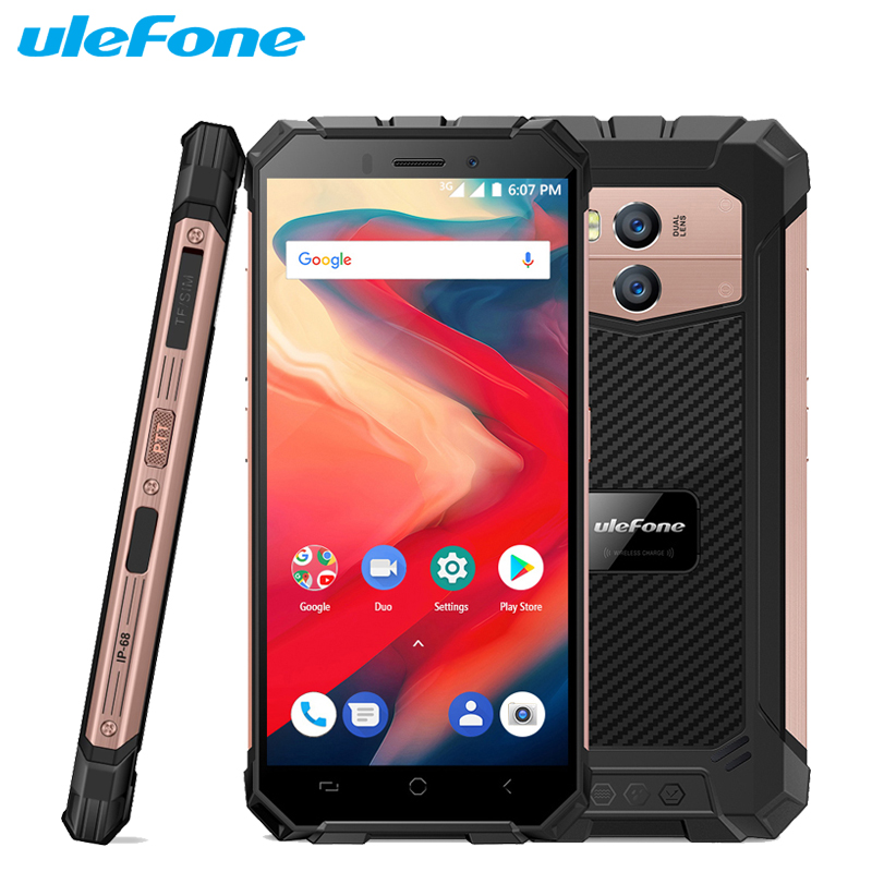 Téléphone portable Ulefone Armor X2 étanche IP68 5.5 pouces HD + 18:9 2 GB + 16 GB MT6580 Quad Core Android 8.1 13MP 5500 mAh NFC Smartphone