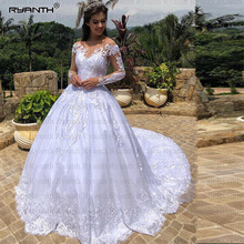 Ryanth Ball Gown Wedding Dress 2019 Long Sleeve