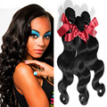 EVET Brazilian Virgin Body Wave Hair Extensions 3 Bundles Unprocessed Body Wave Human Hair Weave Top Grade Hair Weavings 50g/pcs