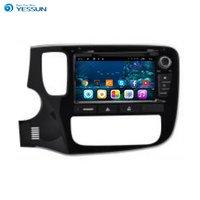 Mitsubishi Yeni Için YESSUN Outlandcer Android Araba GPS Navigasyon Araba DVD oynatıcı Multimedya Ses Video Radyo Çoklu-Dokunmatik Ekran