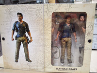 7 18cm NECA Uncharted 4 A thief's end NATHAN DRAKE Ultimate Edition PVC Action Figure Collectible Model doll Toy Original box