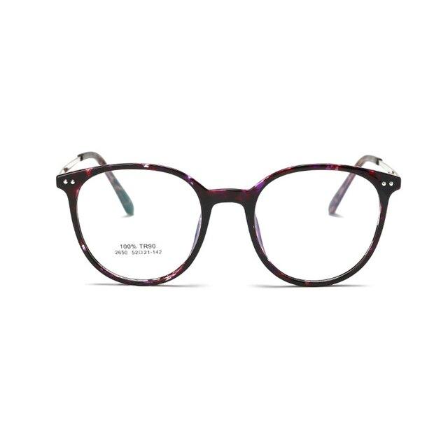 2017 мужчины оптические очки кадр корейский компьютер ясно, круглые очки по рецепту очки старинные очки женщины оптический 2650