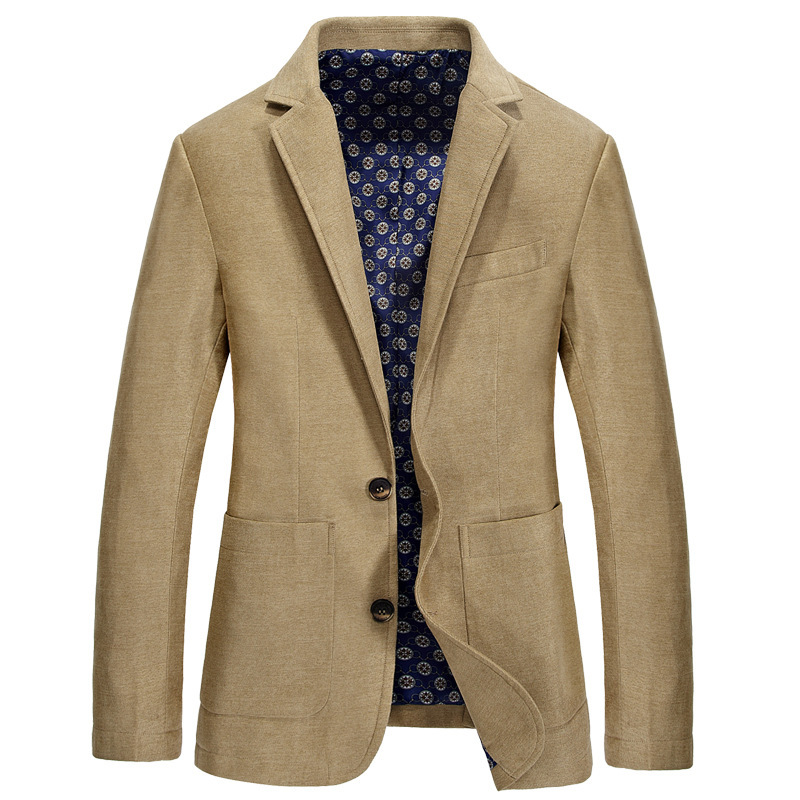 Spring Mens Blazer Jacket Fashion Male Suit Jackets Slim Fat Casual Blazer Men High Quality Brand Clothing Outwear Coats  BF2665
