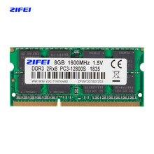 Zifei ddr3 ram 4gb 8gb 1333mhz 1600mhz 1866mhz 1.5v & 1.35v memória do portátil assim dimm