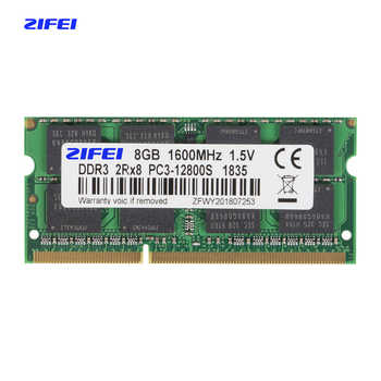 ZIFEI DDR3 RAM 4GB 8GB 1333MHz 1600MHz 1866MHz 1.5V&1.35V Laptop Memory so dimm - Category 🛒 Computer & Office