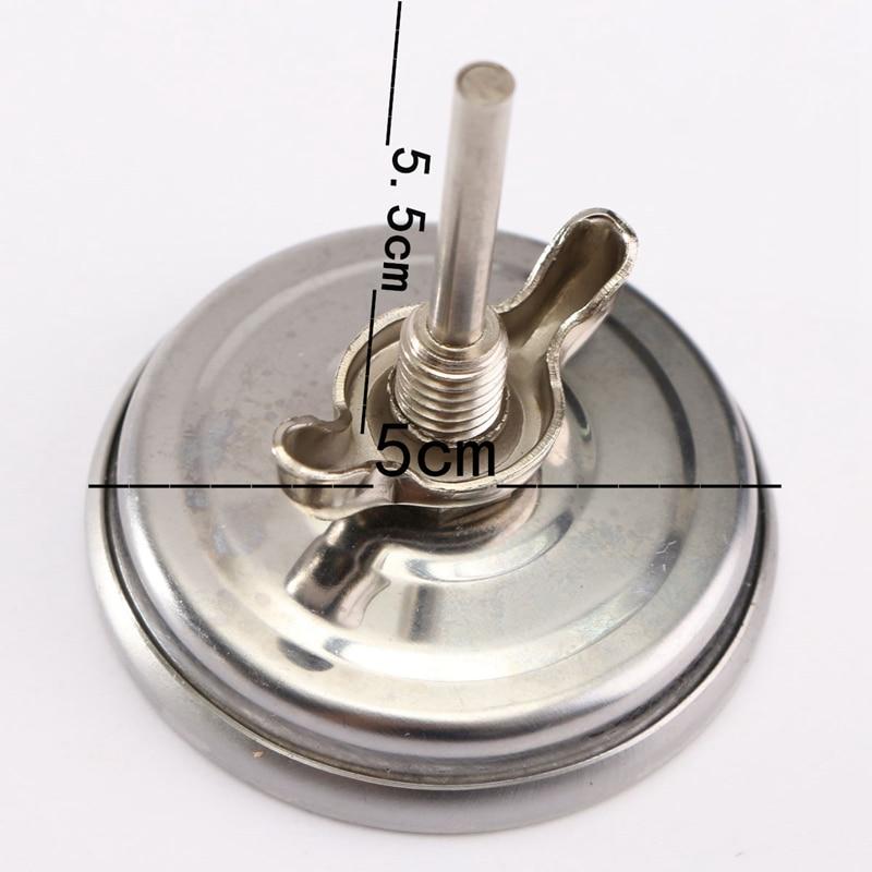 Nerūdijančio plieno Grilis Priedai Grilis Mėsos Termometras Dial - Matavimo prietaisai - Nuotrauka 3