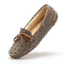 Woman Shoes Autumn Winter Women Flats Pointed Toe Mujer Flats Fashion Women Dress Shoes Sapato Feminino Plus Size 35-40