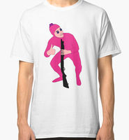 Summer Cotton Men S Filthy Frank Pink Guy Mens Black T Shirt Size S 3Xl Crew