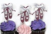 Ballet Flats Ballet Shoes Ballet Slippers Ballet Cupcake Topper Ballerina Topper Ballerina Party Ballerina Baby Shower