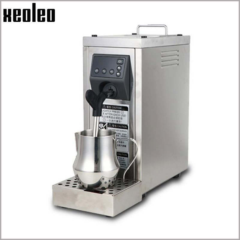 Xeoleo Commercial Steam machine 4 Bar Automatic Coffee milk Bubble maker 1450W Espresso Coffee machine Coffee maker Steam maker automatic espresso coffee maker coffee machine high pressure steam espresso machine milk bubble machine