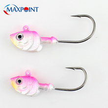2 pcs Jig Head for Soft Lure 20g 26g Baits Fishing Lures Hook Rock Fish Salmon Barramundi Bait Lead JIGS