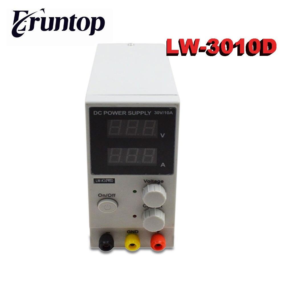 Переменная Вход 110В или 220В LW-K3010D 30 В 10A мини коммутации Регулируемый DC Питание SMPS одноканальный