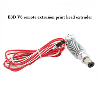 3D Printer Part E3d V6 Remote Extrusion Print Head Extruder With Thermistors Cartridge Heater J HEAD