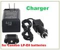 Зарядное Устройство Для canon камеры EOS 550D 600D 650D 700 LPE8 LP-E8 Цифровая камера Заменить батареи зарядное устройство