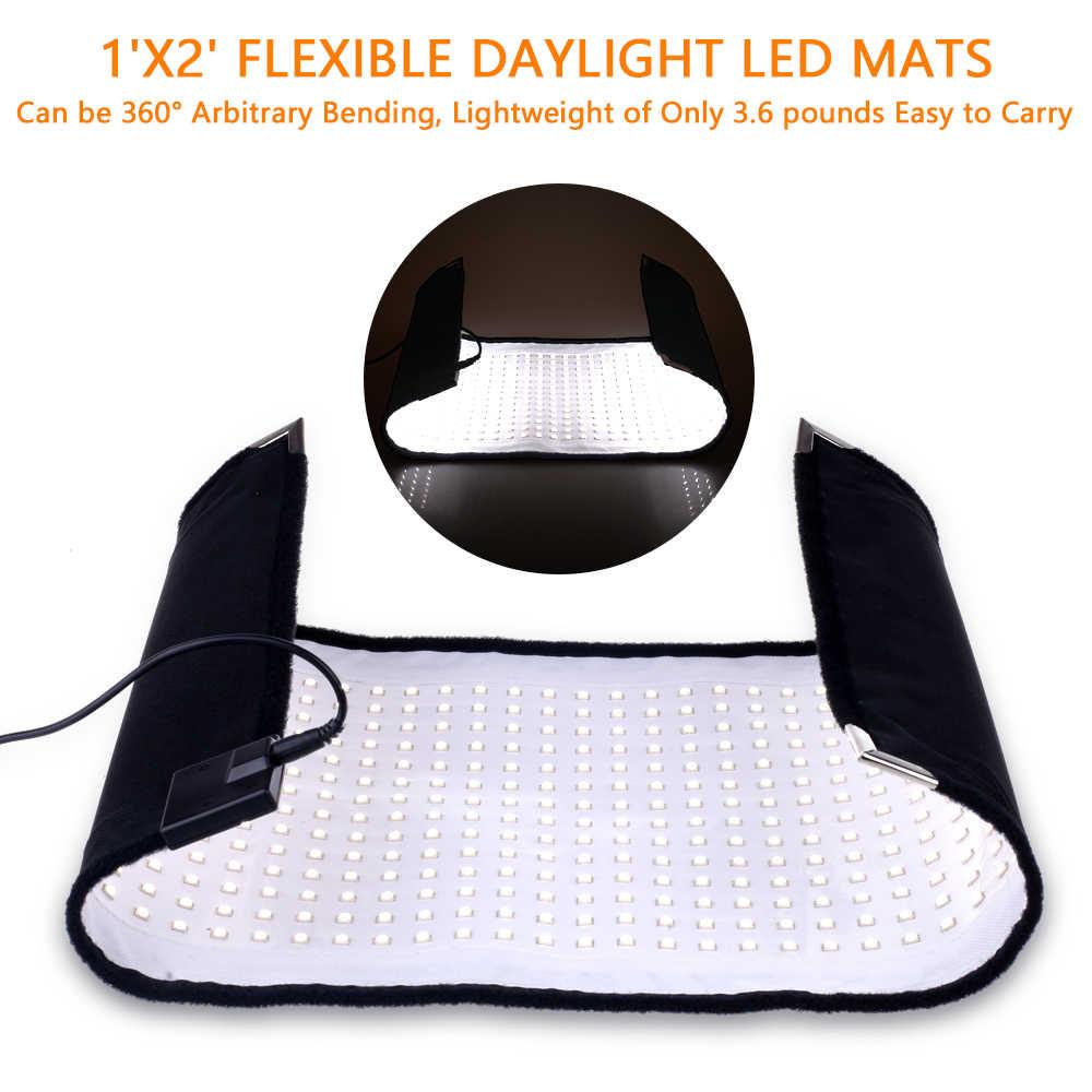 TRAVOR luz do estúdio luz flexble 30*60cm com 2.4G controle remoto dimmable 5500K para a fotografia LEVOU luz de vídeo de iluminação