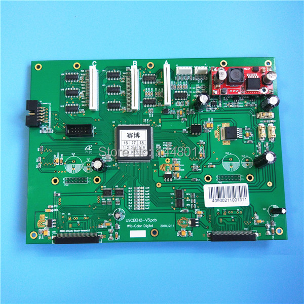 Inkjet Printer PCB Board Wit Color Ultra 9000 Head 2H For Epson DX5