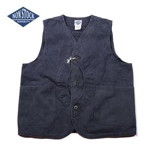 Image 3 - NON STOCK Duck Canvas Game Pocket Vest Vintage Outdoor Mens Hunting Jacket