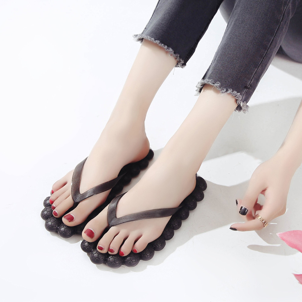Sleeper #402 2019 NEW FASHION Women Flat Heel Anti Skidding Shoes Sandals Slipper beach wear summer casual unique Free ShippingSleeper #402 2019 NEW FASHION Women Flat Heel Anti Skidding Shoes Sandals Slipper beach wear summer casual unique Free Shipping