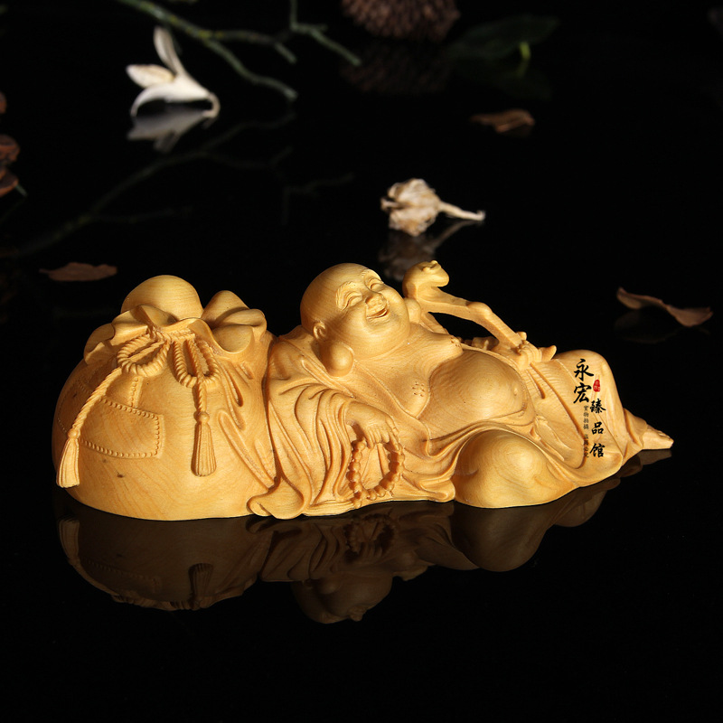 Wood carving smile people home decoration desktop ornaments(A055)Wood carving smile people home decoration desktop ornaments(A055)