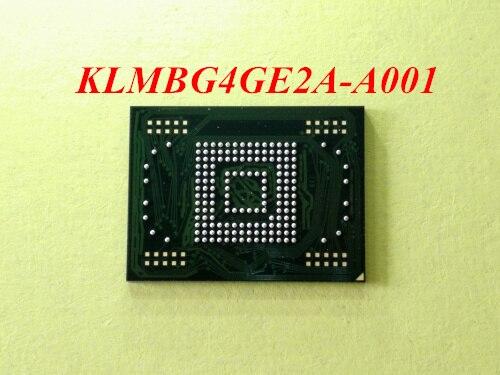2 pcs/lot KLMBG4GE2A-A001 emmc