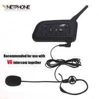 Football Referee Headset Kit Arbitration Monaural Earhook Earphone With 1200m Bluetooth Motorcycle Helmet Intercom