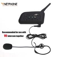 Football Referee Headset Kit Arbitration Monaural Earhook Earphone With 1200m Bluetooth Motorcycle Helmet Intercom