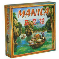 Manila Chess Board Game For 3 5 People Play Poker Size 57 * 87 Table Games