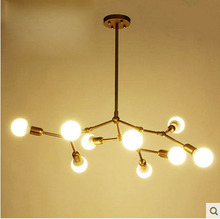 Magic beans pendant light spider shape light fashion mode DNA molecule pendant lamp Nordic Creative Loft pendant light for r