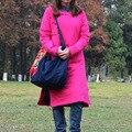 2016 Весна Осень Зима Пальто Оригинальный Народном Стиле Китайских Женщин Куртки Тонкий Хлопок-ватник Тонкий Cheongsam Женщины Пальто