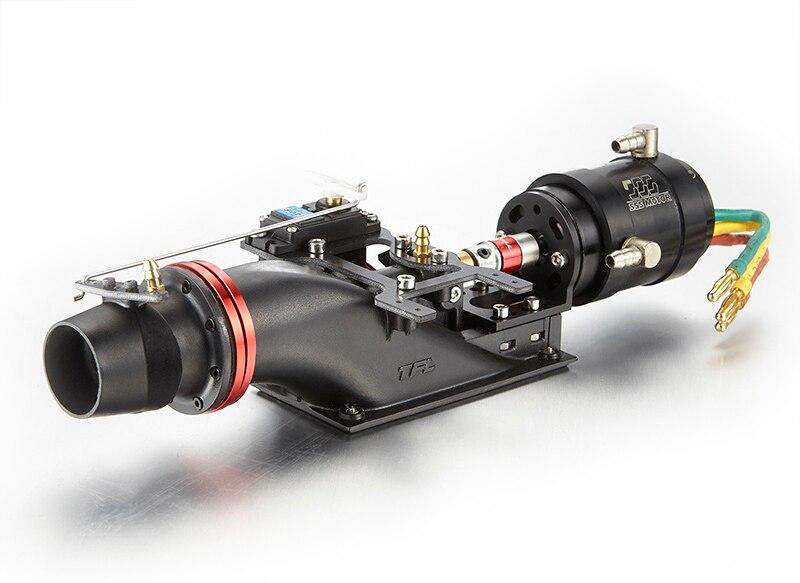 TFL 24mm RC Jet Boat Pump Thruster +Aluminum 2/4 Blades Propeller+2960/3660 Motor+Cooler Jacket Drive Kit Parts for 75cm