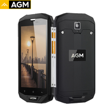 AGM A8 EU Smartphone 64G+4G IP68 Waterproof Qualcommn MSM8916 Quad Core Gorilla Glass Android 7.0 5.0 Inch Mobile Phones 4050mAh