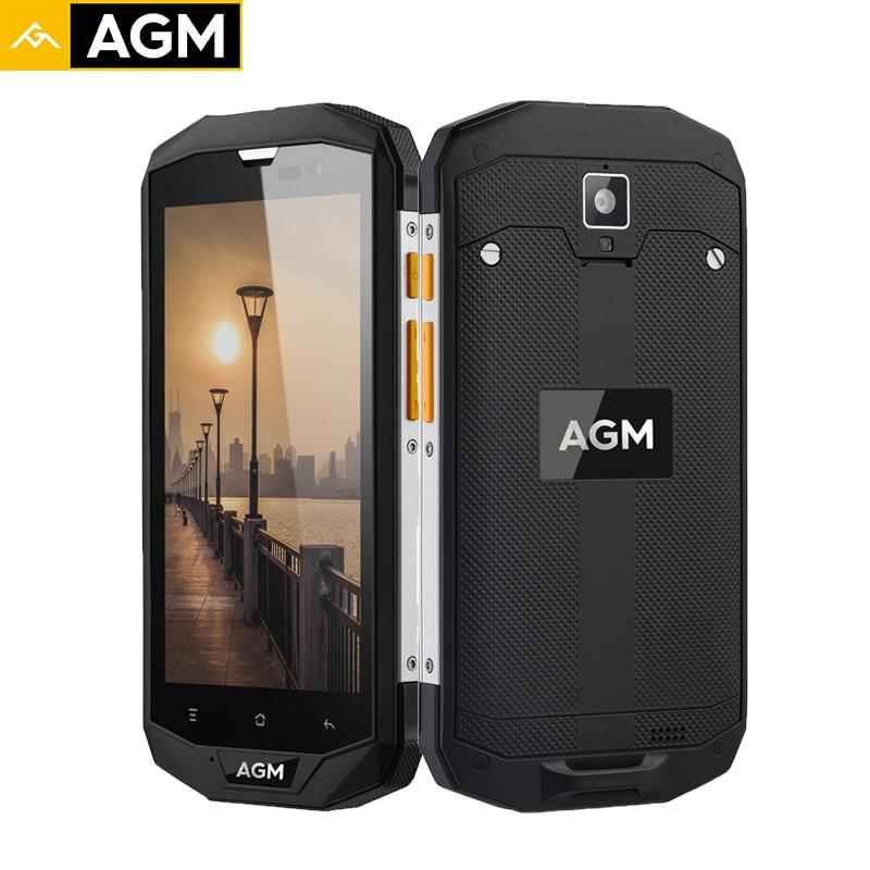 AGM A8 EU Smartphone 64G 4G IP68 Waterproof Qualcommn MSM8916 Quad Core Gorilla Glass Android 7