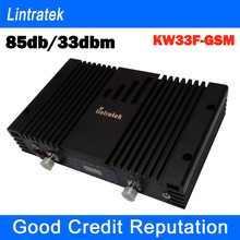 GSM signal booster 85db gain 33dbm output can cover big place high performance gsm 900mhz signal