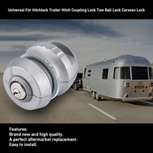Универсальный для Hitchlock прицепа сцепка замок сцепления шар фаркопа замок для автофургона