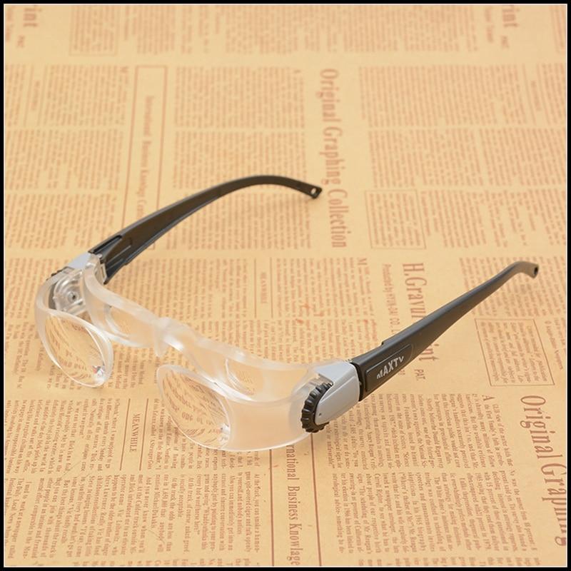 2.1x Myopia Glasses MaxTV Binocular TV Screen Magnifying Glasses Focusing Glasses Magnifier for Low Vison