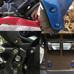 Image 5 - CNC 5 6 Mm Xe Máy Fairing Bu Lông Chóp Tốc Độ Dây Kẹp Vít Dành Cho Xe Suzuki SFV650 Gladius TL1000S GSXR750 600 thanh Katana B KING