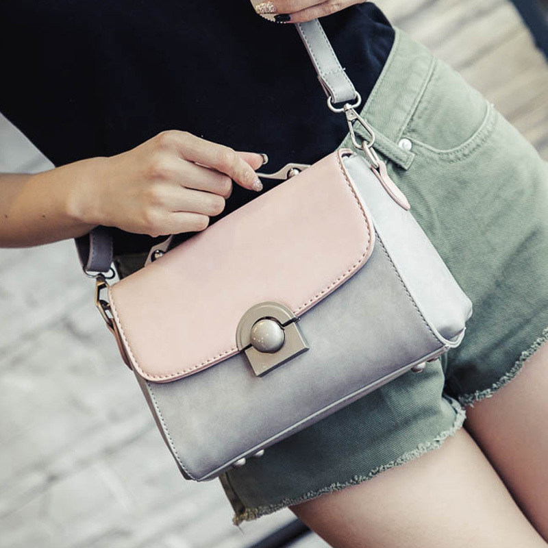Women Bag Summer New Hit Color Small Square Package Korean Version Fashion Buckle Handbags Trendy Wild Shoulder BagsWomen Bag Summer New Hit Color Small Square Package Korean Version Fashion Buckle Handbags Trendy Wild Shoulder Bags