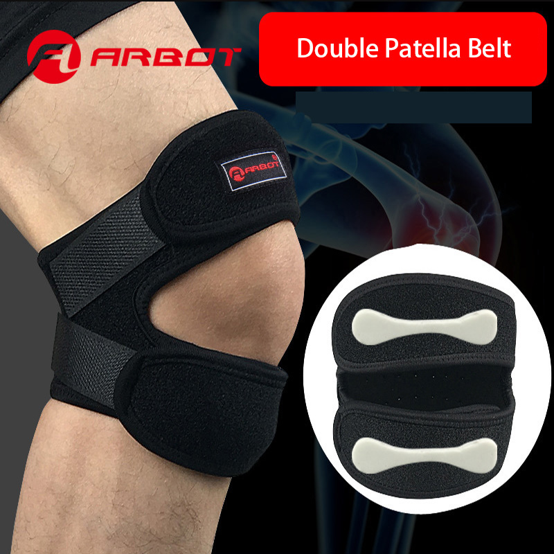 1PCS Knee Support Patella Belt Elastic Bandage Tape Sport Strap Knee Pads Protector Band For Knee Brace Football Sports Fitness