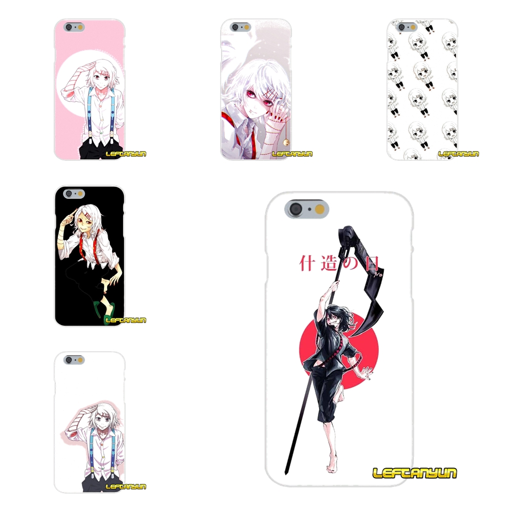Tokyo Ghouls JUUZOU SUZUYA Soft Silicone phone Case For iPhone X 4 4S 5 5S 5C SE 6 6S 7 8 Plus