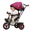 Marca nuevo bebé carro 1-3-5 años bebé envío rueda inflable triciclo niños ecológico rueda espacio