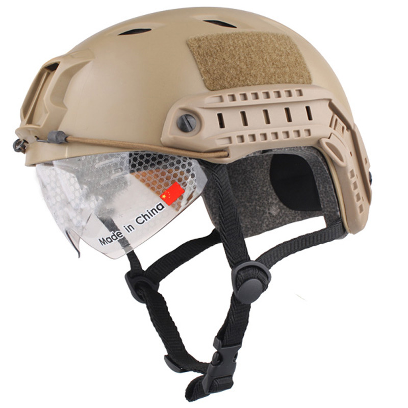 Спортивный шлем 2017 новое лошадь Capacete Airsoft Пейнтбол База Перейти Шлемы защитные очки Военная Униформа Тактика для Охота