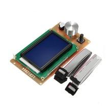Adjustable 12864 Display LCD 3D Printer Controller Adapter For RAMPS 1.4 Reprap