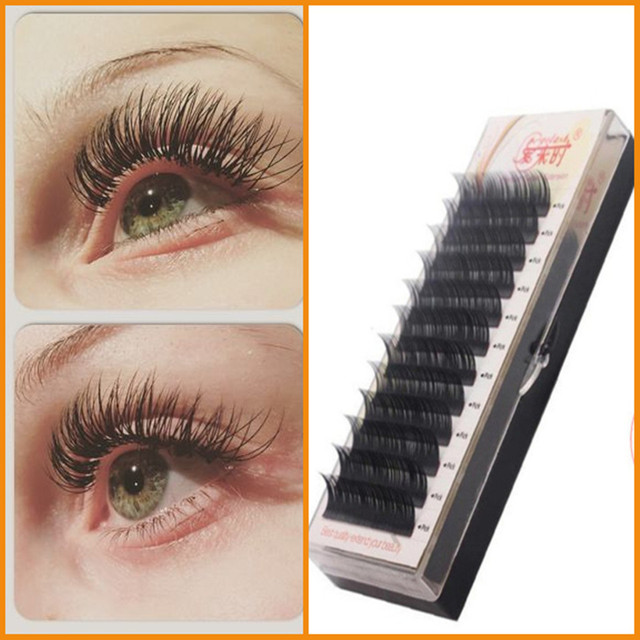 All Size Volume Korea Silk Individual Lash Eyelash Extension Bcd