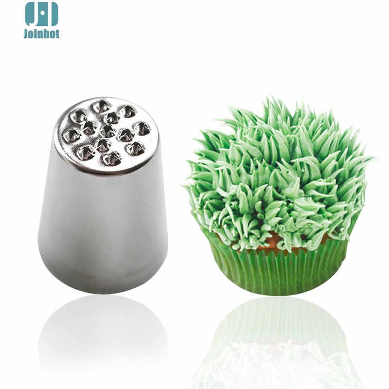 Kuchnia 1pc kreatywna trawa oblodzenie dyszy końcówki do dekoracji z lukru Sugarcraft ciasto z kremem Cupcake narzędzie dekoracyjne
