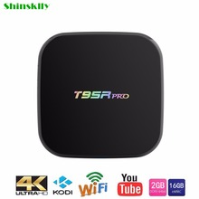 T95R PRO Smart Android TV Box Amlogic S912 Octa core 2G/16G Android 6.0 set-top TV Box WiFi 2.4G/5.8G BT4.0 4K TV Media Player