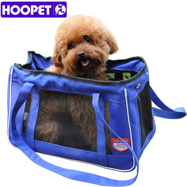 HOOPET Pet Carrier Soft Side Cat / Dog Comfort Travel Tote Bag Portable Blue XS S M L