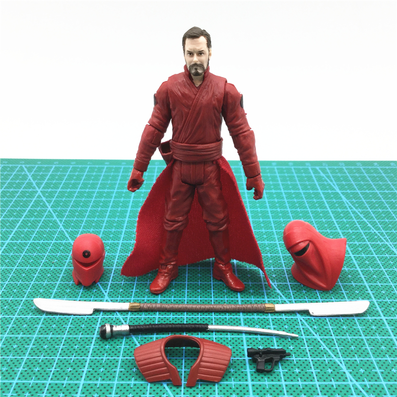 3.75'' action figures Star Wars Jedi return Royal Guard Royal Red Guard collection model chirden toys шторы тканевые brenda royal guard