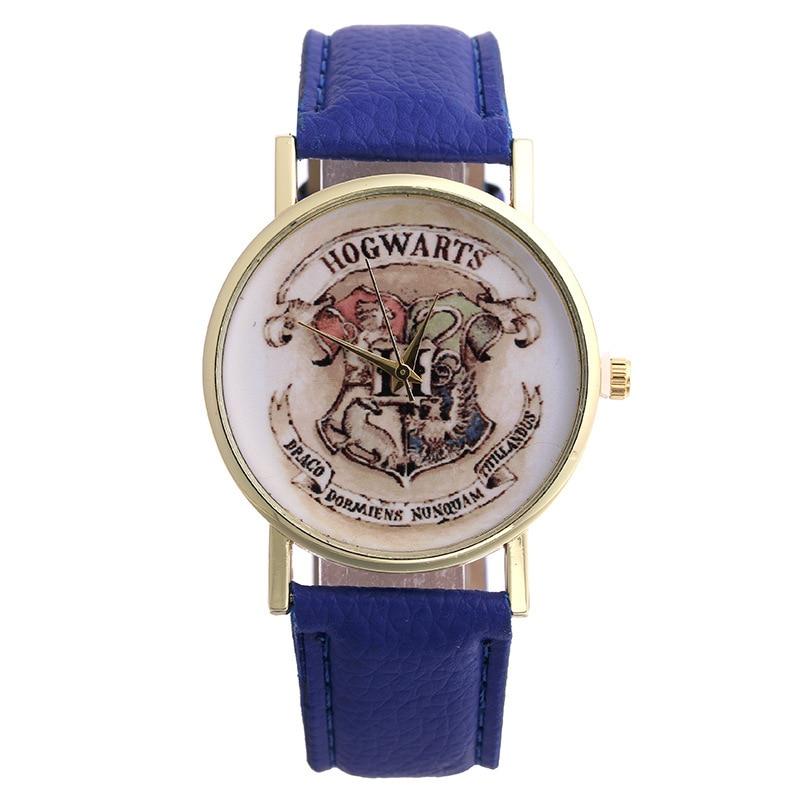 Unisex HOGWARTS Magic School Design Magic Watches Women Wristwatch Casual Luxury Quartz Watches Relogio
