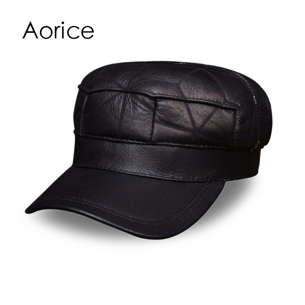 Police cap badges ga rel hat badges page 1 garel - Hl115 Real Leather Baseball Cap Hat Winter Warm Russian Old Men One Fur Beret Army Ear